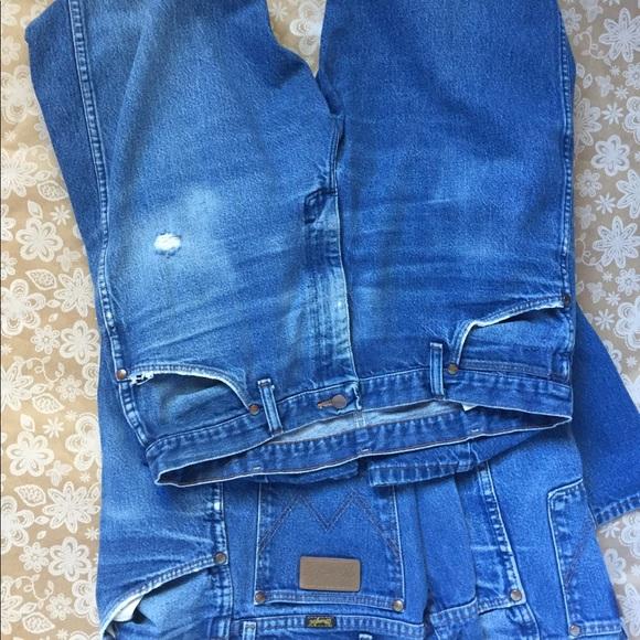 4ae2f6f3 Wrangler Jeans | Lot Of 3 13mwz Cowboy Cut Vintage | Poshmark